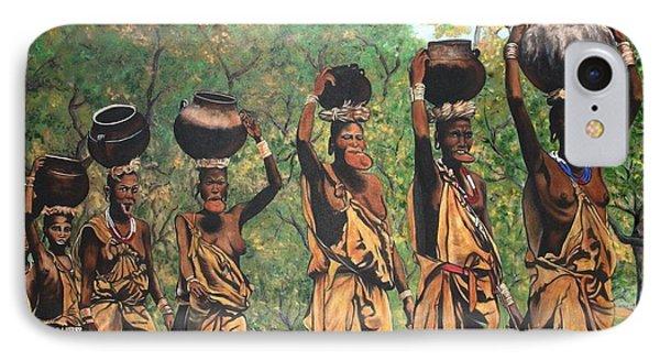 Surma Women Of Africa IPhone Case
