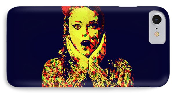 Surprise Girl Pop Art IPhone Case