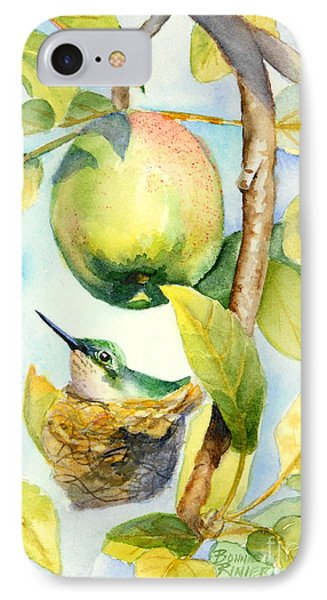 Surprise In The Apple Tree IPhone Case