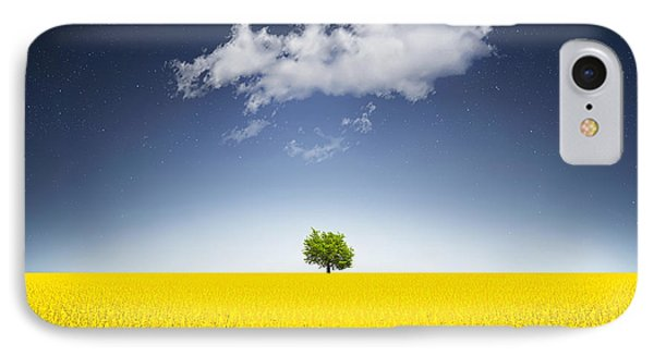Surreal Canola Field IPhone Case by Bess Hamiti