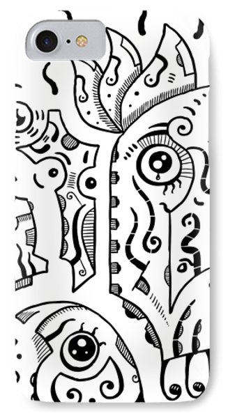 Surreal Eyes IPhone Case