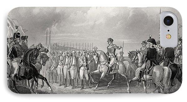 Surrender Of Lord Cornwallis At York IPhone Case