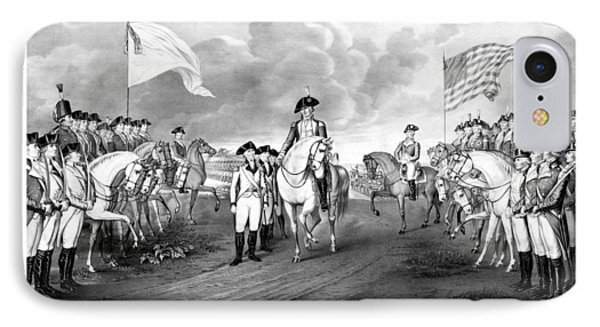 Surrender Of Lord Cornwallis At Yorktown IPhone 7 Case by War Is Hell Store