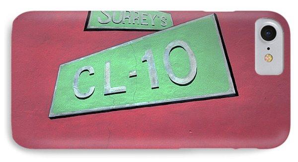 Surrey's Cl-10 IPhone Case