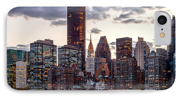 Surrounded By The City IPhone 7 Case by Az Jackson