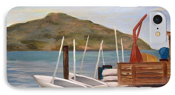 Susalito Dock IPhone Case by Santiago Perez