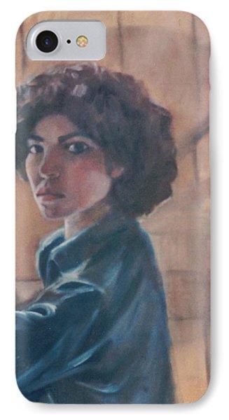 Susan Berger - Suzn Smith - Self Portrait IPhone Case