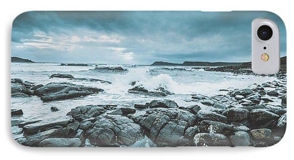 Suspenseful Seas IPhone Case by Jorgo Photography - Wall Art Gallery