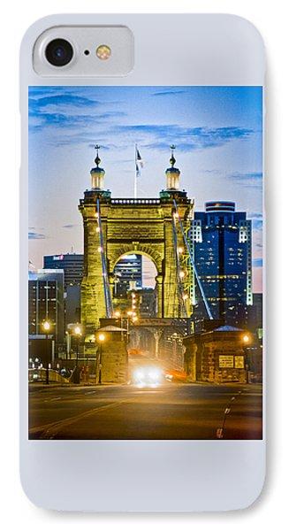 Suspension Bridge IPhone Case by Scott Meyer