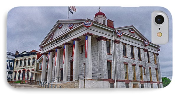 IPhone Case featuring the photograph Sussex County Courthouse by Mark Miller