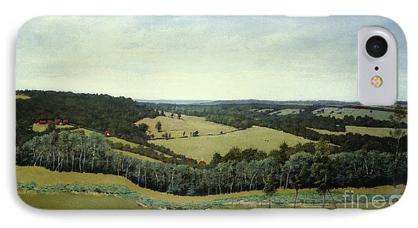 Sussex England - Landscape In Oils IPhone Case