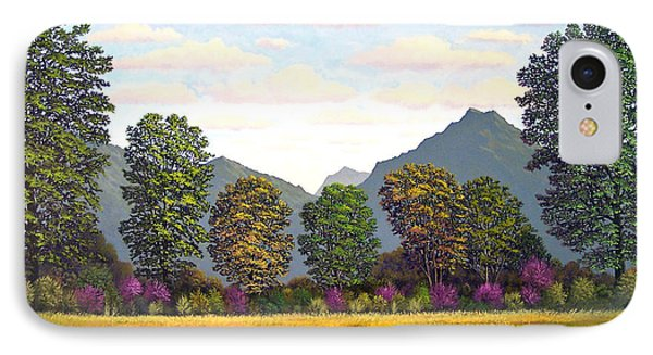 Sutter Buttes In Springtime Phone Case by Frank Wilson