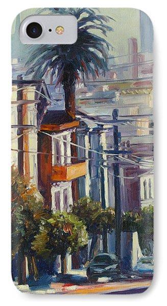 Post Street IPhone Case by Rick Nederlof