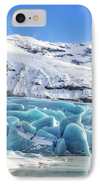 IPhone Case featuring the photograph Svinafellsjokull Glacier Iceland by Matthias Hauser