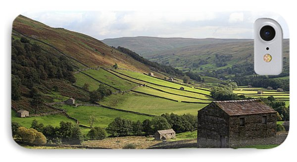 Swaledale  Yorkshire Dales IPhone Case by Paula Guttilla