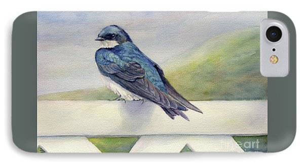 Swallow In Waiting IPhone Case