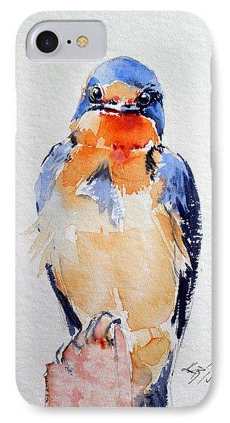 Swallow iPhone 7 Case - Swallow by Kovacs Anna Brigitta