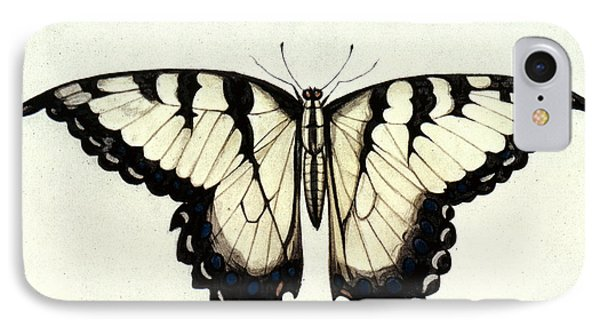 Swallow-tail Butterfly Phone Case by Granger