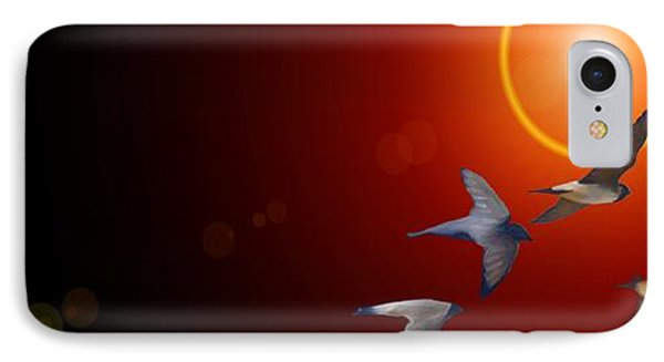 Swallows In Flight IPhone Case