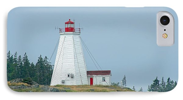 Swallowtail Lighthouse Phone Case by Thomas Marchessault