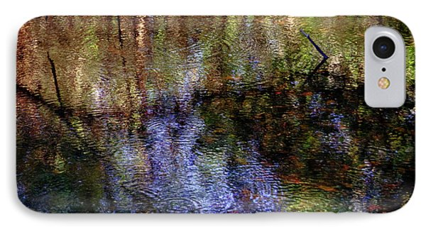 Swamp Abstract IPhone Case