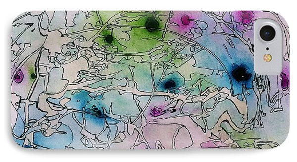 Swamp IPhone Case by Betty Lu Aldridge