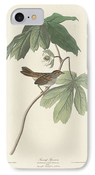 Swamp Sparrow IPhone 7 Case by Rob Dreyer