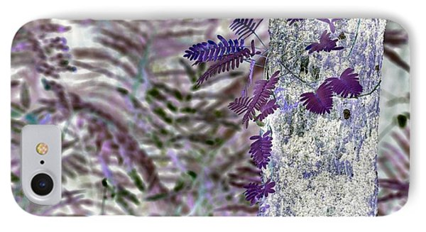 Ferns Of A Different Color IPhone Case