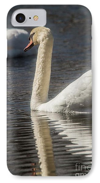 IPhone Case featuring the photograph Swan by David Bearden