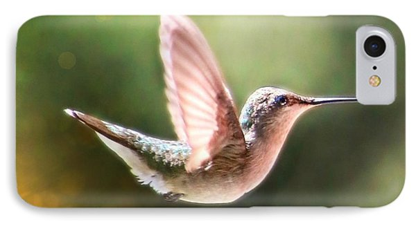 Swan Dive Hummingbird IPhone Case
