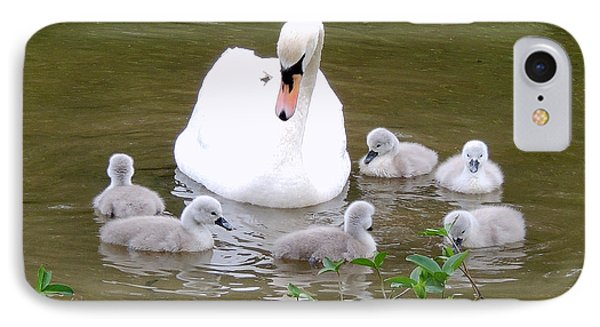 IPhone Case featuring the photograph Swan Lake 1 by Bill Holkham
