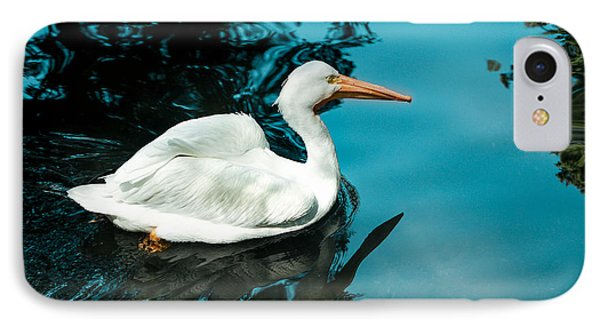Swan Lake IPhone Case by Debbie Karnes