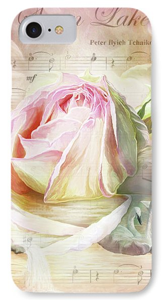 Swan Lake Rose IPhone Case by Carol Cavalaris