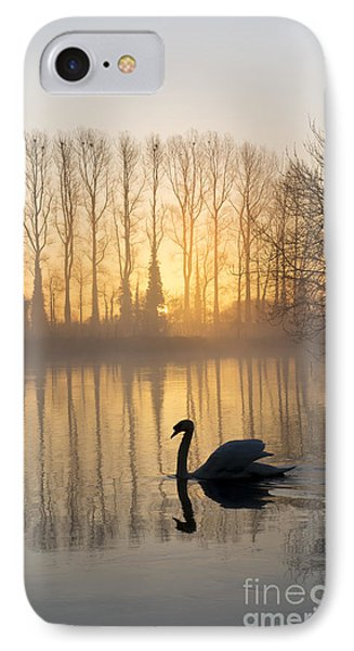 Swan Lake IPhone Case by Tim Gainey