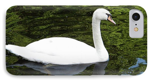 IPhone Case featuring the photograph Swan by Manuela Constantin