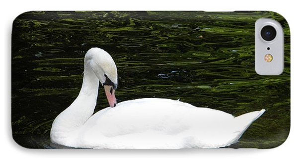 IPhone Case featuring the photograph Swan May by Manuela Constantin