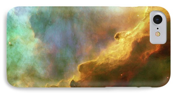 Swan Nebula, M17, Birthplace Of Stars, Space, Astronomy, Science IPhone Case by Tina Lavoie
