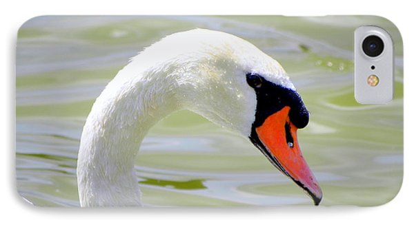 IPhone Case featuring the photograph Swan Profile by Terri Mills