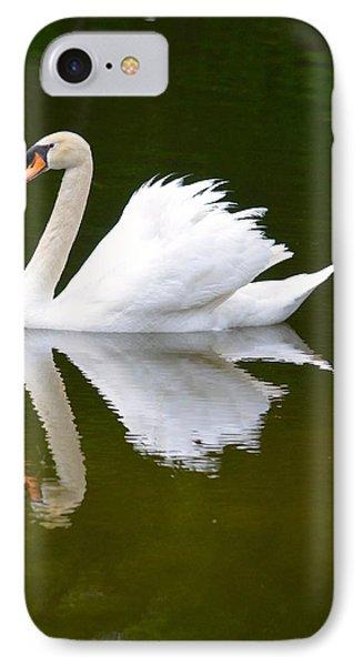 Swan Reflecting IPhone Case by Richard Bryce and Family