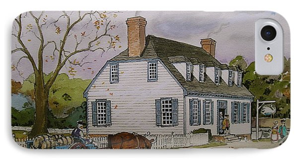 Swann Tavern IPhone Case by Ebb Pate