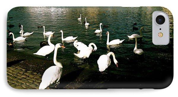 Swans Phone Case by Ariane Moshayedi