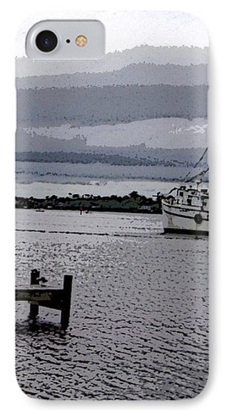 IPhone Case featuring the photograph Swansboro Harbor by Skyler Tipton