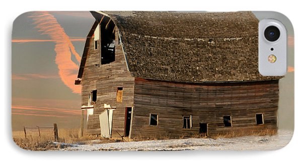 Swayback Barn IPhone Case by Kathy M Krause