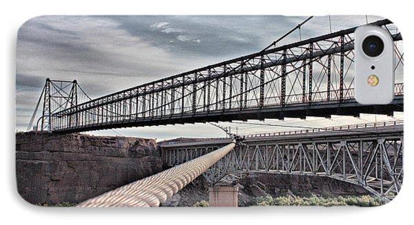 Swayback Suspension Bridge IPhone Case