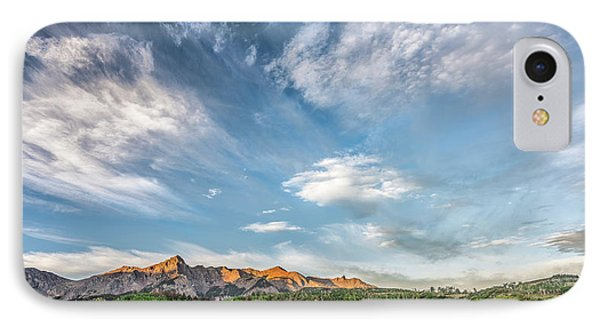 IPhone Case featuring the photograph Sweeping Clouds by Jon Glaser