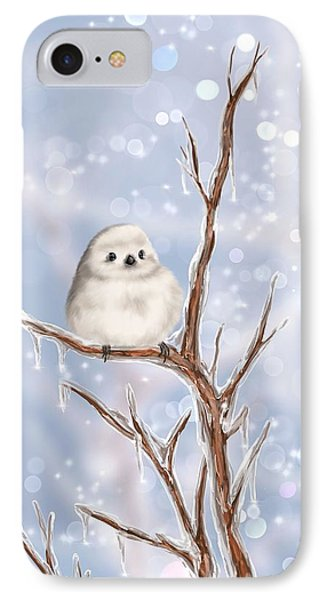 IPhone Case featuring the painting Sweet Cold by Veronica Minozzi