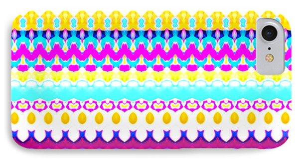 Sweet Dreams Stripe IPhone Case by Robyn Parker