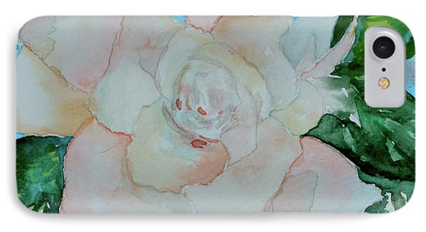 IPhone Case featuring the painting Sweet Gardenia by Beverley Harper Tinsley