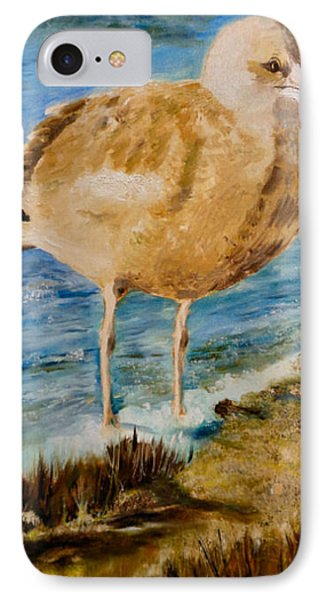 Sweet Gull Chick IPhone Case