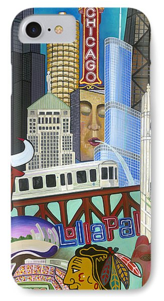 Sweet Home Chicago IPhone Case
